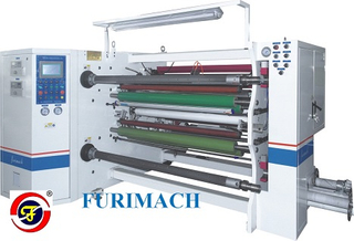 FR-261 Optical Material Auto Double-shaft Center Surface Slitting Rewinding Machine