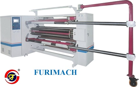 FR-218 Double-shaft Center Surface Slitting Rewinding Machine