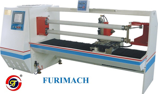 FR-1300B Double-shaft Auto Roll Cutting Machine