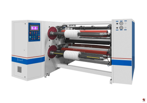 SLF-S Automatic Four-shaft Turret Exchange Slitter Rewinder