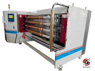 FCE Eight Shafts BOPP Tape, Masking Tape, Duct Tape, Alu. Foil Tape Slitting Machine