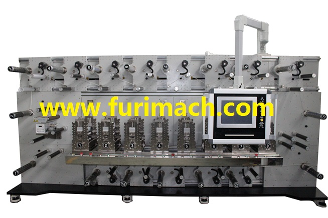 DCR-0817 Eight-station Rotary Die Cutting Machine
